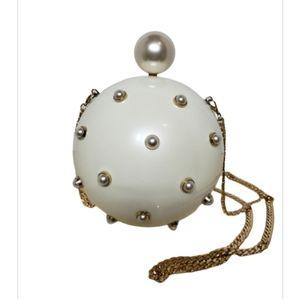 ASOS Pearl Sphere Clutch Shoulder Bag
